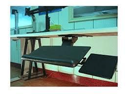Under Desk Laptop Shelf Keyboard Tray Ebay