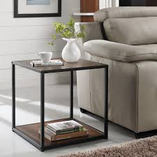 wicker park haddon accent table with metal frame free shipping