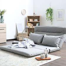 futon canap lit salon futon chaise canapé lit meubles japonais étage sans jambes