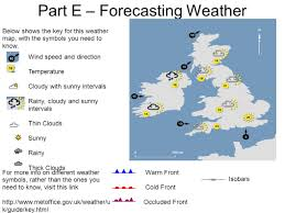 Weather Map Symbols Ks3 U2013 Weather And Climate Lesson Overview Write Down