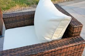 Rattan Wicker Patio Furniture Ensenada Sunbrella 6 Piece Outdoor Wicker Patio Furniture
