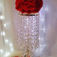 Wedding Centerpieces With Crystals by Wedding Crystal Centerpiece Candelabra From Fashion Proposals