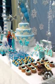 frozen themed birthday party with lots of really cute ideas via