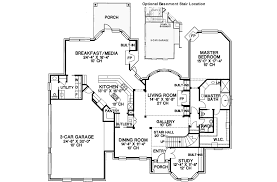 House Plans With Media Room Love The Butlers Pantry Between Kitchen And Dining Room And The