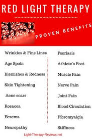 benefits of light therapy list of proven benefits of red light therapy i just want to share