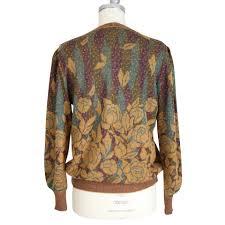 emanuel ungaro emanuel ungaro brown wool sweater buy second hand
