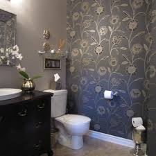 Wallpaper Ideas For Bathroom by Wallpaper For Bathroom