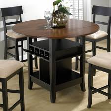 bar height table set 68 most prime bar height kitchen table counter dining round set