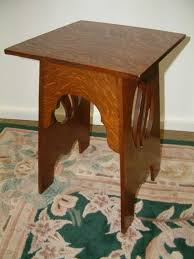 Small Occasional Table Oak Arts And Crafts Small Occasional Table 118601