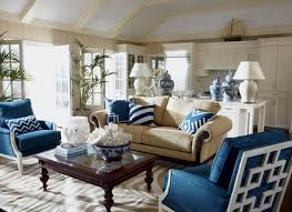 attractive blue accent chairs for living room antique blue fabric