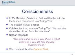 Ex Machina Turing Test Creative Responses To Artificial Intelligence