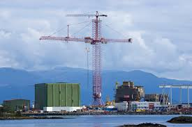 shutdown the largest tower crane atomic toasters