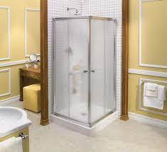 interior magnificent bathroom decoration using square glass
