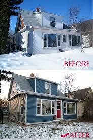 gentek my design home studio before after siding in gentek u0027s coast blue and gentek white