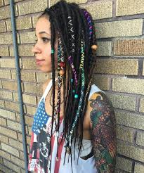dreadlock accessories 30 creative dreadlock styles for and women