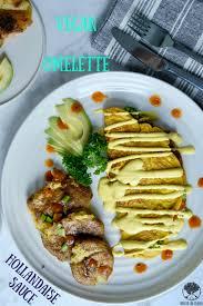 cuisine hollandaise vegan omelette cashew hollandaise sauce