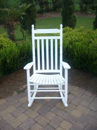Wooden Rocking Chair Outdoor Slat Back Rocking Chair 410rta