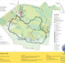 Royal Botanical Gardens Melbourne Map Map Of The Cranbourne Gardens Walks With In