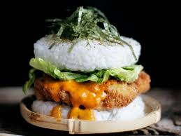 behold the sushi burger the internet u0027s latest food hybrid