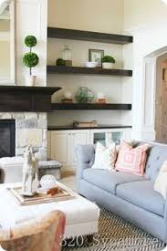 Inbuilt Tv Cabinets Built In With Simple Shaker Doors Fireplace Wall Pinterest