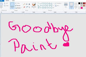 microsoft confirms u0027ms paint u0027 not being removed to be available