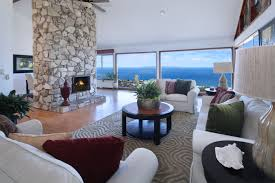 modern interiors 4k hd wallpapers sea view simple living room