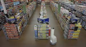 wal mart u0027s robots scan shelves restock items faster