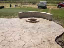 Cost Of Stamped Concrete Patio by Stamped Concrete Patio Floors Delightful Outdoor Ideas