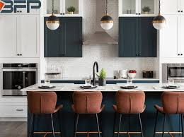 navy blue and white kitchen cupboards china customized white navy blue matt finish kitchen