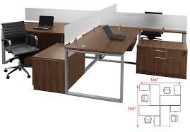 Office Desk Workstation Trendspaces 2 Person Basic Benching Workstation