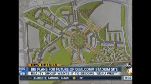 San Diego State Campus Map by What Happens To Qualcomm Stadium 10news Com Kgtv Tv San Diego