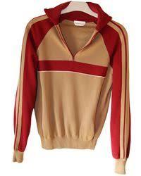 chloé swing sweatshirt in yellow lyst
