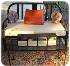 Iron Headboard And Footboard by Garden Bench Headboard And Footboard Gardens Headboard Benches