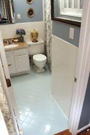 painting tile floor in bathroom room design ideas