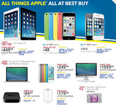 best buy walmart black friday ads bring the year s best apple