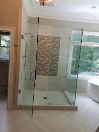 Shower Doors Atlanta by Chc Glass U0026 Mirror Shower Enclosures Atlanta Ga