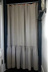 Frilly Shower Curtain Sew A Ruffled Shower Curtain