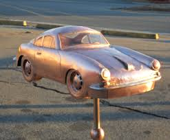 1963 porsche 354 speedster car weathervane cape cod cupola
