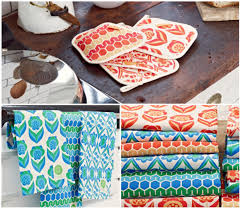 modern kitchen towels modern retro kitchen linens this beautiful day