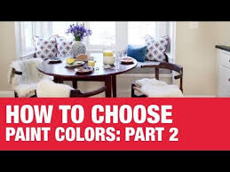 how to choose paint colors part 2 ace hardware youtube