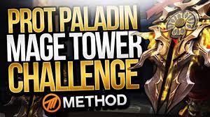 Challenge Method Protection Paladin Tank Mage Tower Challenge Method Sco The