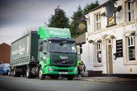 volvo ltd optimised line built volvo drays join carlsberg fleet