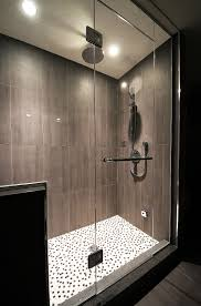 elegant bathroom shower ideas with glass box installation ruchi amazing design of the bathroom theme ideas with white floor shower ideas added with black iron