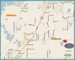 Map Of Hudson Florida by Field Location U2013 Gator Paintball Extreme