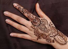 different styles of mehendi designs like mehndi designs
