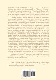 remapping the history of catholicism in the united states essays