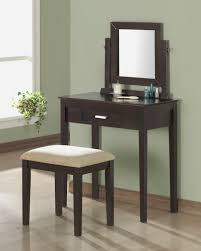 vanity table with lighted mirror and bench bedroom vanit glass bedroom vanity vanity with makeup area vanity