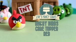 bird cake topper angry birds bird cake topper how to make angry birds cakes