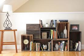 Building Wooden Bookshelves by Cheap Diy Bookshelf Style Doherty House Diy Bookshelf Design