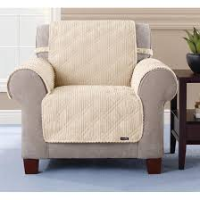 pet chair covers pet chair covers sure fit quilted corduroy chair pet cover 292844